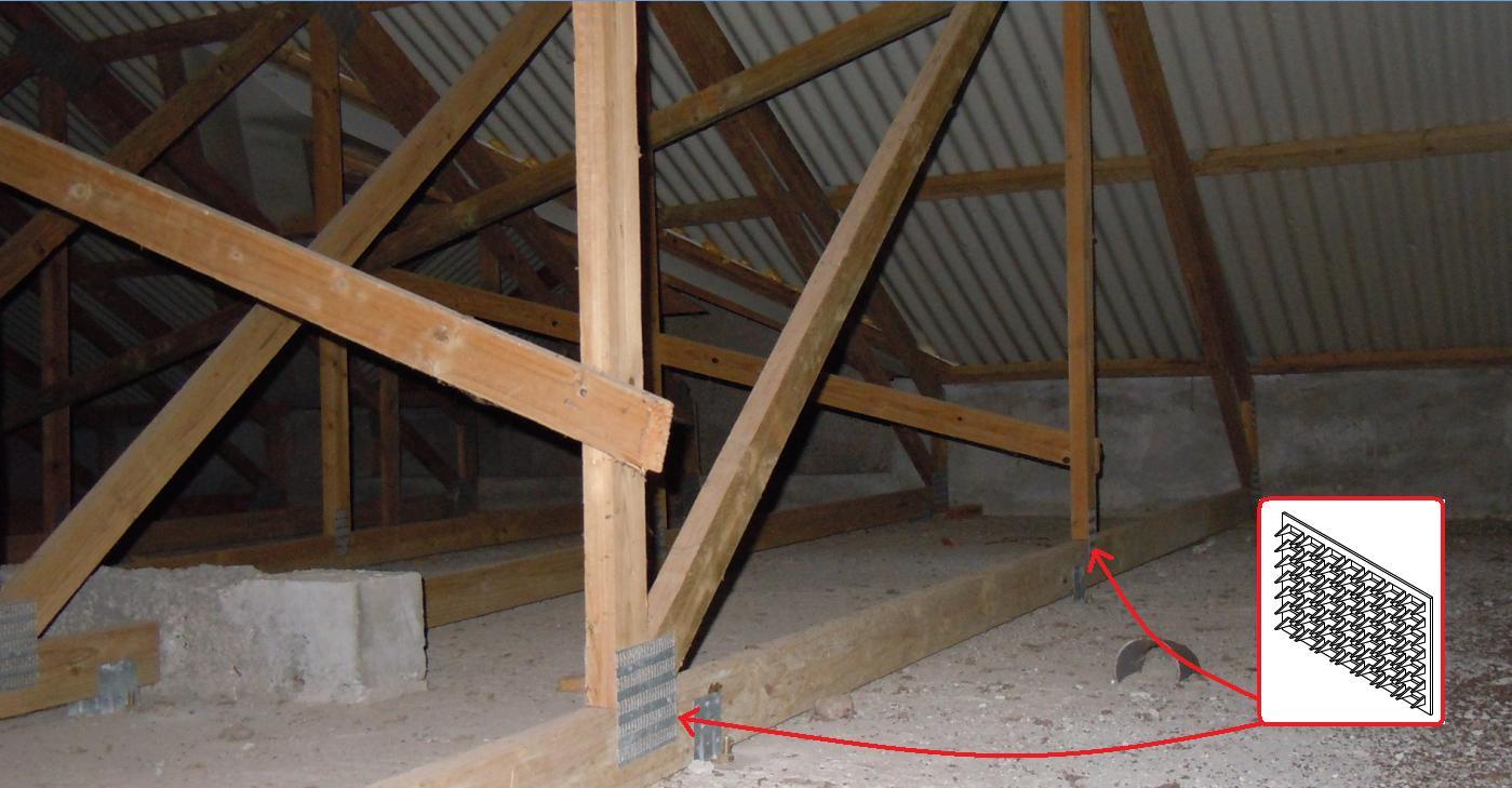 Charpente Bois Fermette : GuidEnR CONSTRUCTION-BOIS > Les charpentes en bois > Les fermettes