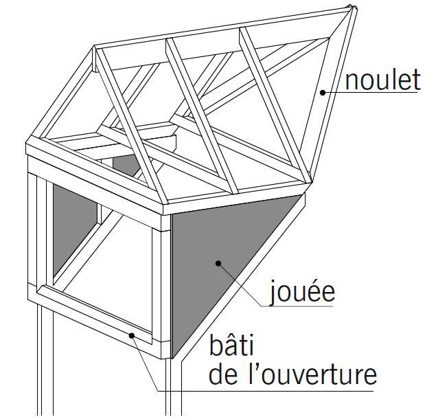 Guidenr construction bois les charpentes en bois les for Construire une lucarne rampante