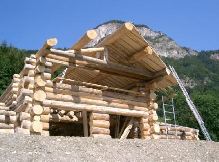 isolation maison rondin bois