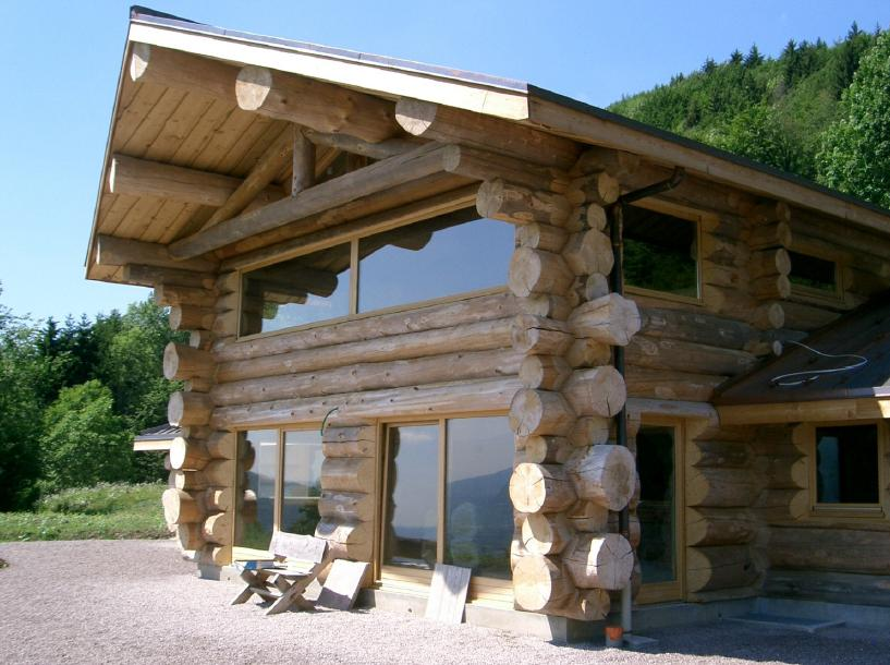 Guidenr construction bois les ossatures en bois construction en madriers ou en rondins - Construction rondin de bois ...